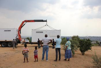 Solar Learning Lab at Bokamoso School, South Africa