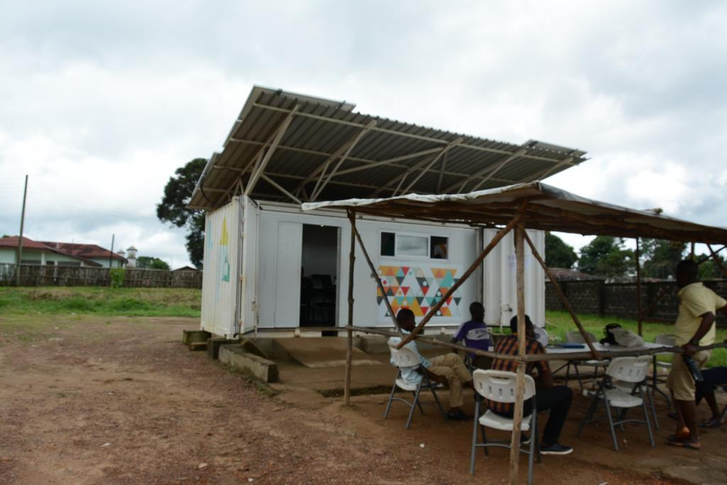 A solar learning lab in Pujehun